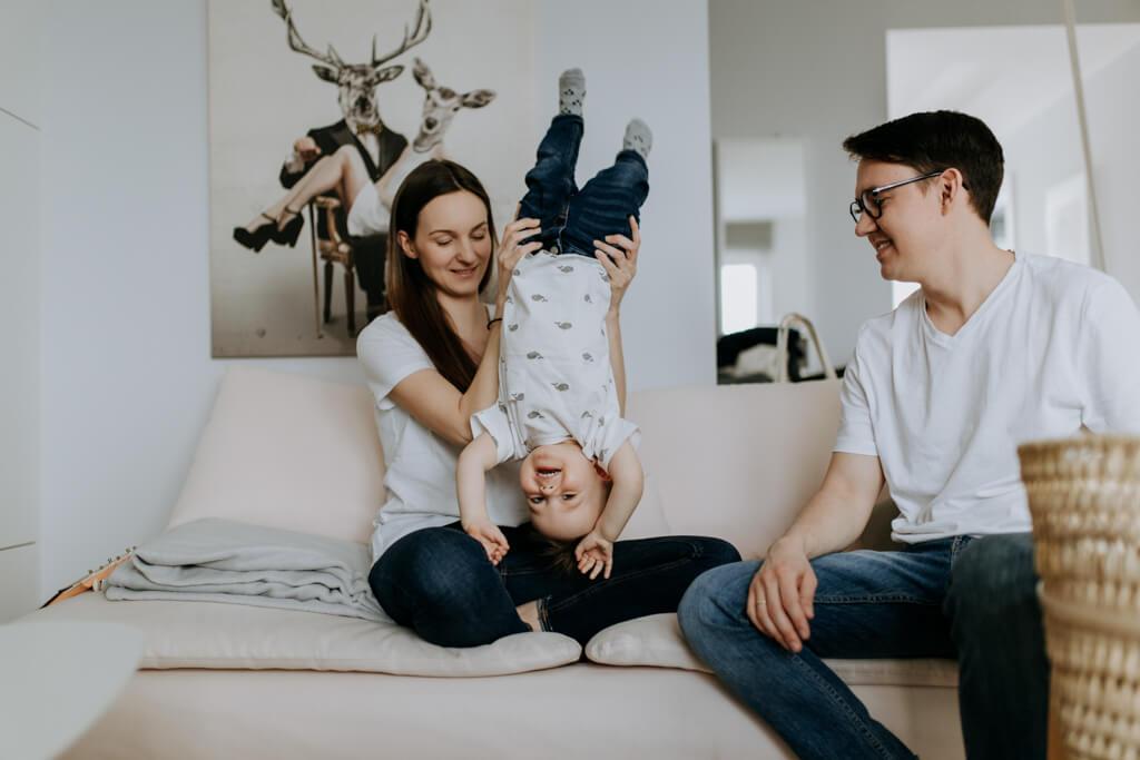 Rodzinna sesja lifestyle w Warszawie