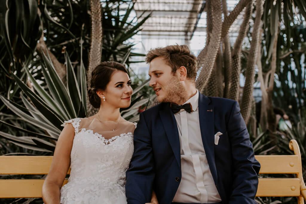 Sesja ślubna w ogrodzie botanicznym (12)