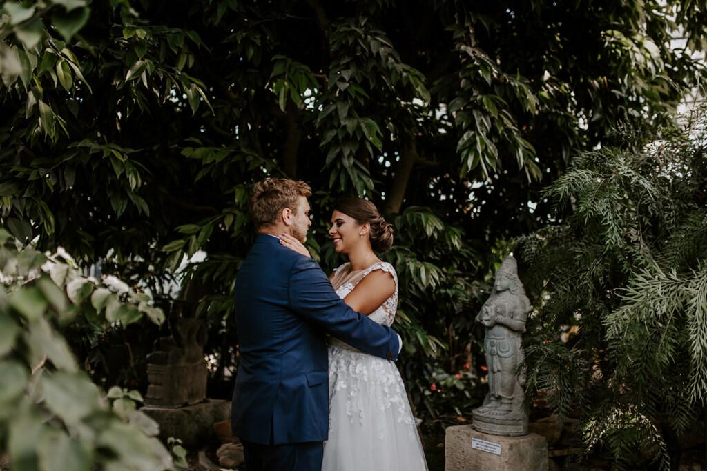 Sesja ślubna w ogrodzie botanicznym (15)