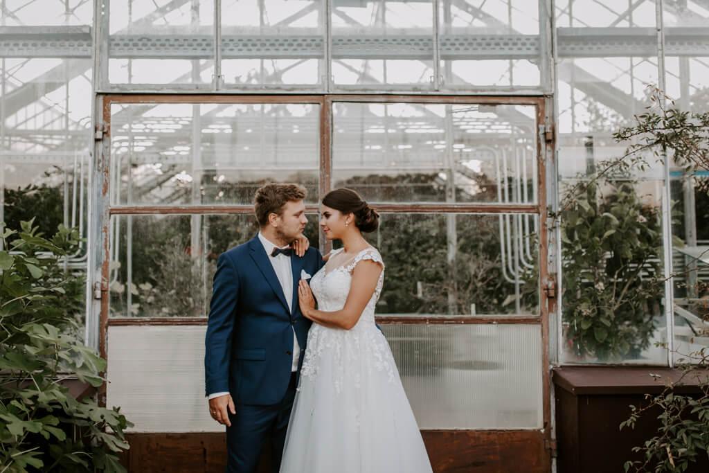 Sesja ślubna w ogrodzie botanicznym (2)