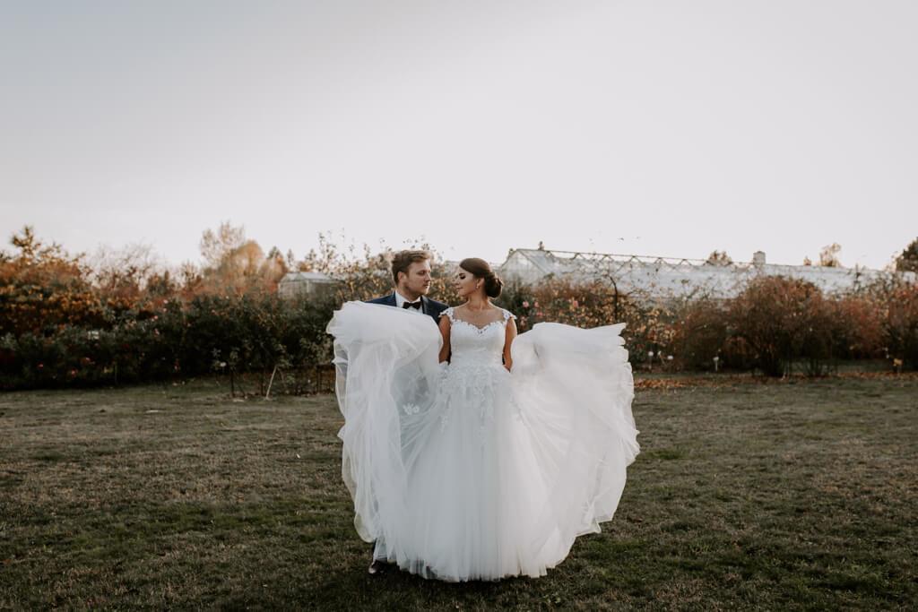 Sesja ślubna w ogrodzie botanicznym (37)