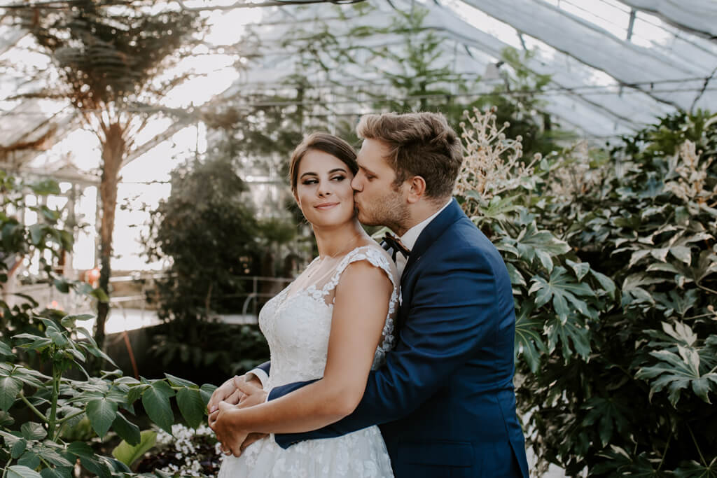 Sesja ślubna w ogrodzie botanicznym (4)