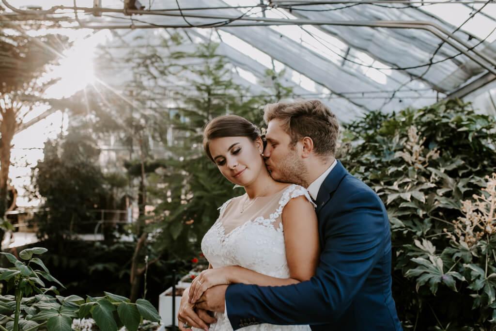 Sesja ślubna w ogrodzie botanicznym (5)