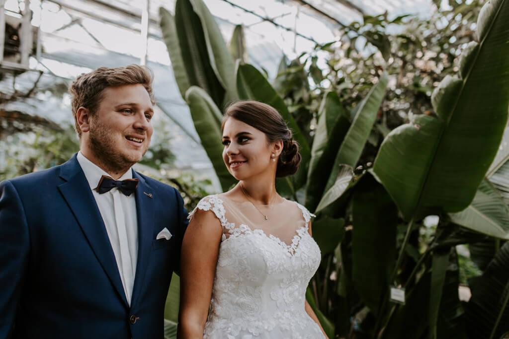 Sesja ślubna w ogrodzie botanicznym (6)