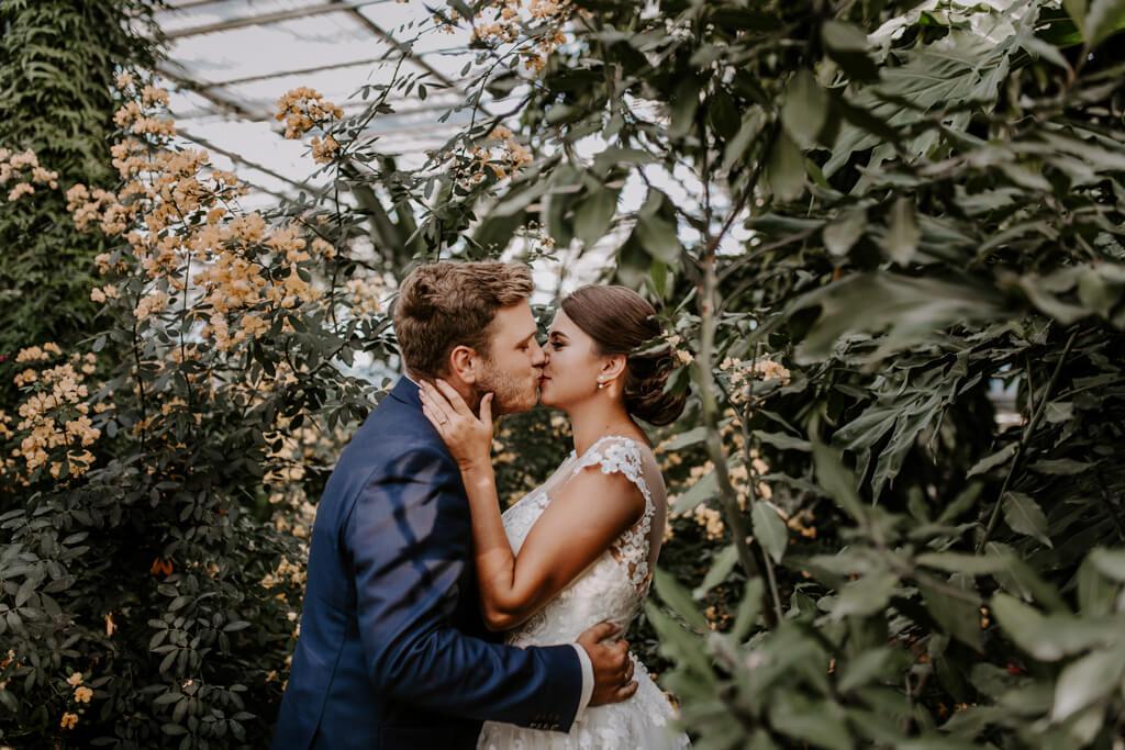 Sesja ślubna w ogrodzie botanicznym (9)
